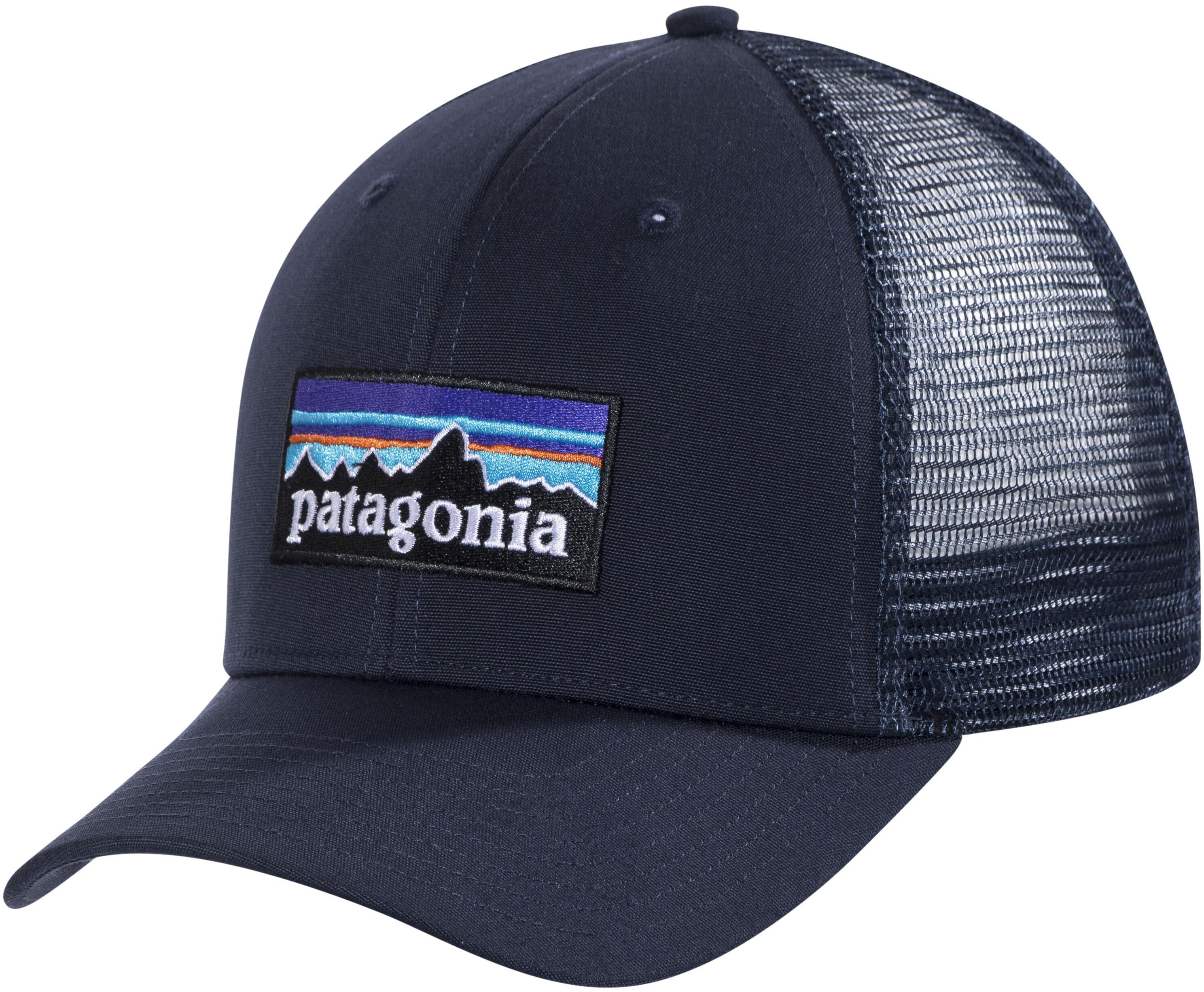 Patagonia P-6 Logo Trucker Hat Navy Blue - addnature.com d206835c9aa7